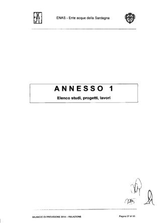 ANNESSO 1 - Ente Acque della Sardegna