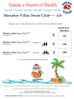 Sheraton Villas Swan Club***** AIS