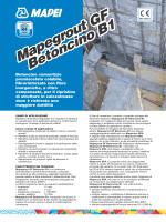 Mapegrout GF Betoncino B1 Mapegrout GF Betoncino B1