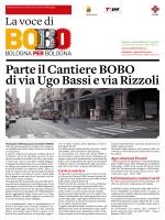 Parte il Cantiere BOBO di via Ugo Bassi e via Rizzoli