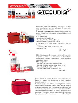 Catalogo Prodotti Gtechinq rew 1