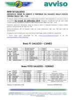 RETE DI SALUZZO linea 91 SALUZZO – CUNEO