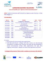 COMUNICAZIONE SELEZIONI - Centro Europeo di Studi Manageriali