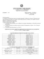 """ORARIO –RICEVIMENTI A - Scuola """"G.Cavalcanti"""", Sesto Fiorentino"""