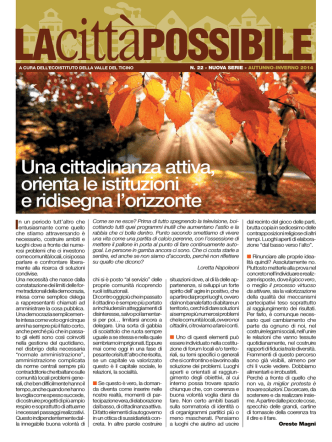auTuNNO-iNverNO 2014 - Ecoistituto della valle del Ticino
