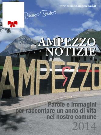 2014 Giornale annuale - Home — Comune di Ampezzo