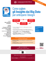 gli Insights dai Big Data
