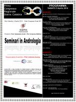 Primo Congresso Regionale Siams Calabria. PROGRAMMA