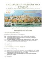 xviii congresso regionale arca sardegna01 primo annuncio