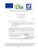 Lettera di invito e capitolato tecnico cottimo