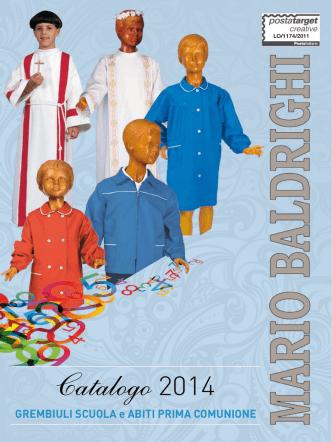 Catalogo 2014 Grembiuli scuola ed abiti Prima Comunione