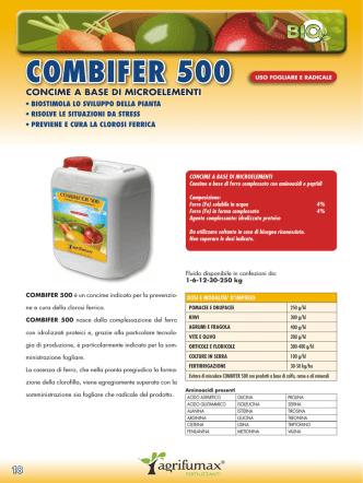 COMBIFER 500 - Eurobiofert