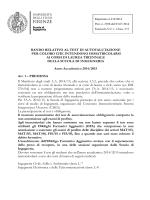 Bando - Ingegneria - Università degli Studi di Firenze