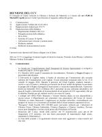 RIUNIONE DEL CCV - I blog di Unica