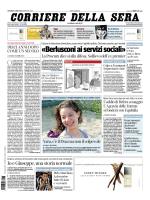 «Berlusconi ai servizi sociali»
