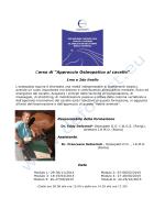 Programma corso di osteopatia equina