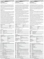 Instrucciones de uso / Filtro de silicato