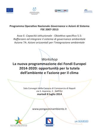 2014 _WK Napoli - Programma
