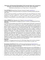 1 Mathematics and International Relationships in Print (Journals
