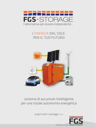 Brochure accumulo FGS Storage