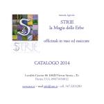 STRIE la Magia delle Erbe CATALOGO 2014