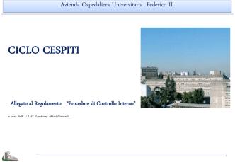 CICLO CESPITI - Azienda Ospedaliera Universitaria Federico II