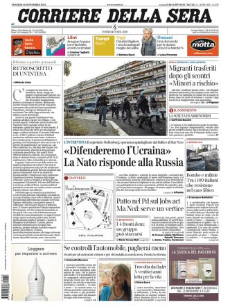Corriere della sera - 14.11.2014