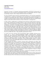 CV Bargna 2014 - Dipartimento di Scienze Umane per la