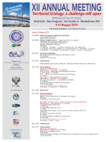 programma scientifico xii annual meeting 2014