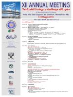 programma scientifico xii annual meeting 2014