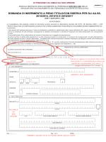 legge 143/2004 INDICAZIONE PER LA COMPILAZIONE GAE