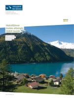 Unterkunftsverzeichnis Schnalstal Saison 2014/15