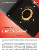 JohnBlue JB3, Giacomo Pagani, Fedeltà del Suono