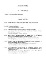 PROGRAMMA - Società Chimica Italiana