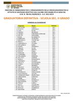 II grado - Università di Udine
