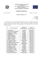 Orario di ricevimento dei docenti - Liceo Classico Statale P. Colletta