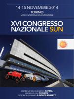 XVI CONGRESSO NAZIONALE SUN