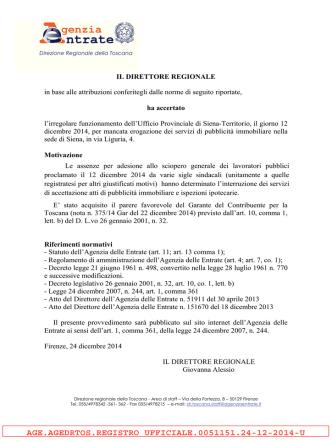 (provvedimento) - pdf - Agenzia delle Entrate