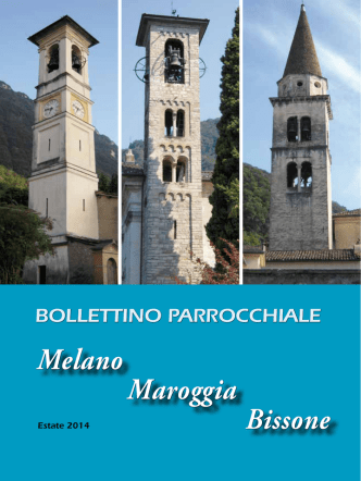 Bollettino Estate 2014