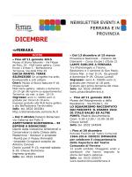 Newsletter 12.2014 - Campeggio Comunale Estense, Home