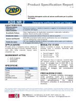 KDS NR 2 - Zep Italia S.r.l.