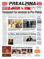 Lo Nero, dalla Cimberio al Varese