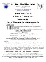"""""""SCI e CIASPOLE"""" - Valtournenche"""