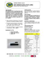 Scheda tecnica - Zep Italia S.r.l.
