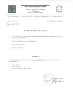 Graduatorie defintive personale docene Infanzia - I. C.