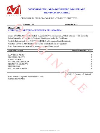 139 approvazione verbale seduta del 02042014