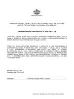 Proposta determina - Comune di Genova
