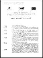 regione siciliana dipartimento della p rog ra ivi ma 7a one area affari