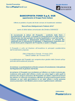 Prospetto - BancoPosta Fondi