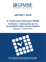 9a Conferenza Nazionale GIMBE ABSTRACT BOOK